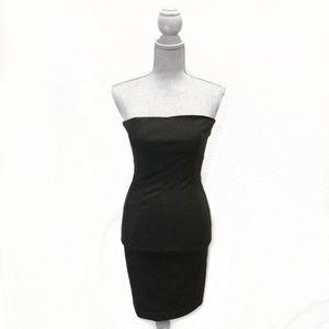 Zara Strapless Mini Dress XS